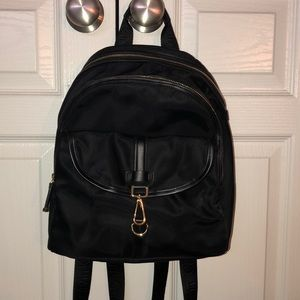 Black back pack